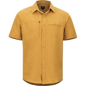 Marmot Danfield SS Shirt Herre aztec gold